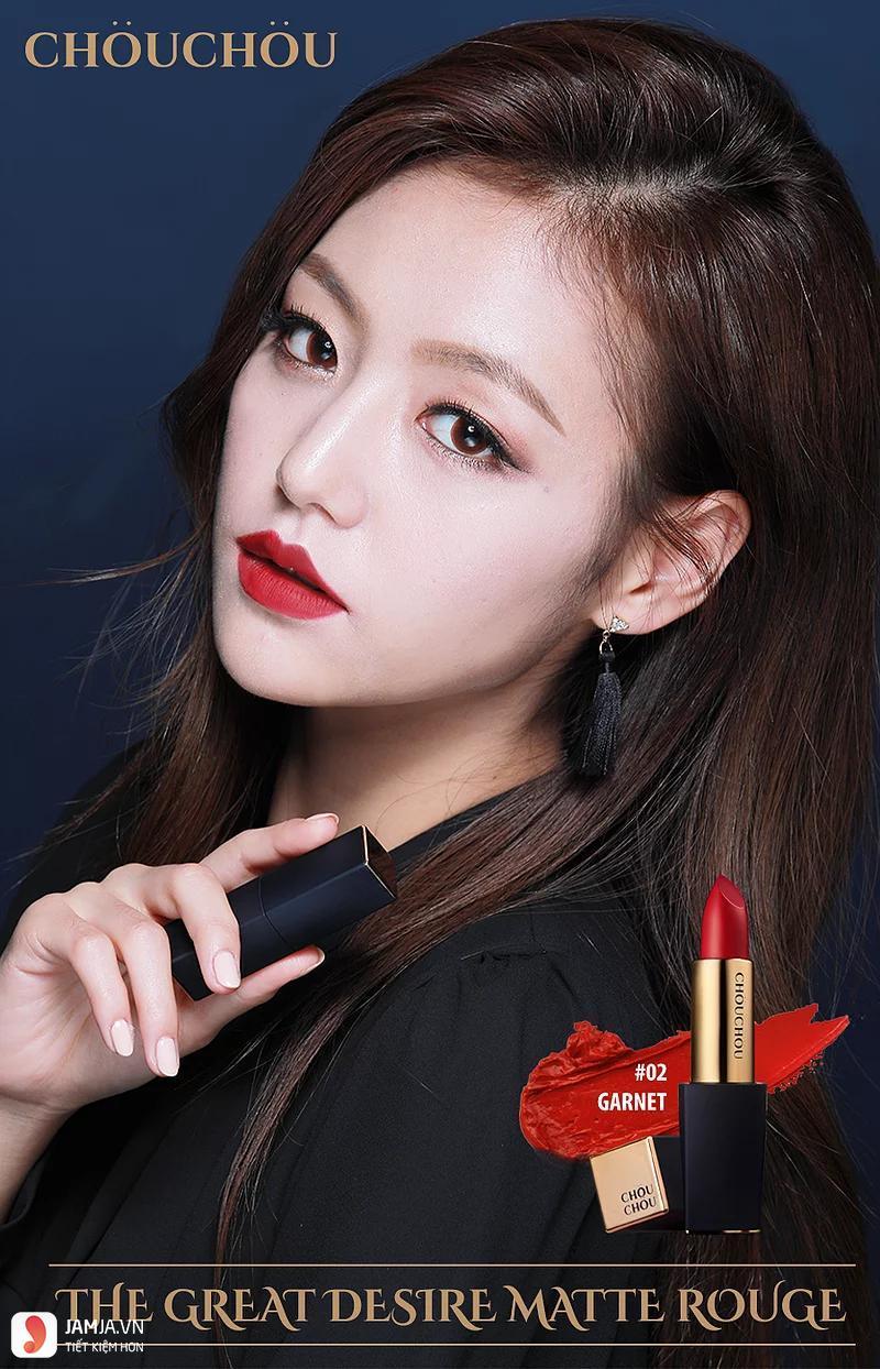 Son Chou Chou Desire màu 02