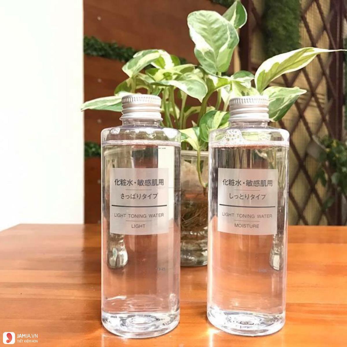 ưu điểm nước hoa hồng Muji