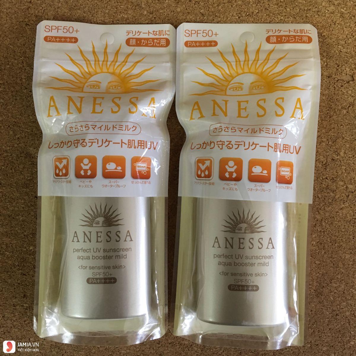 Anessa Pefect UV Sunscreen Aqua Booster Mild SPF50+/PA++++