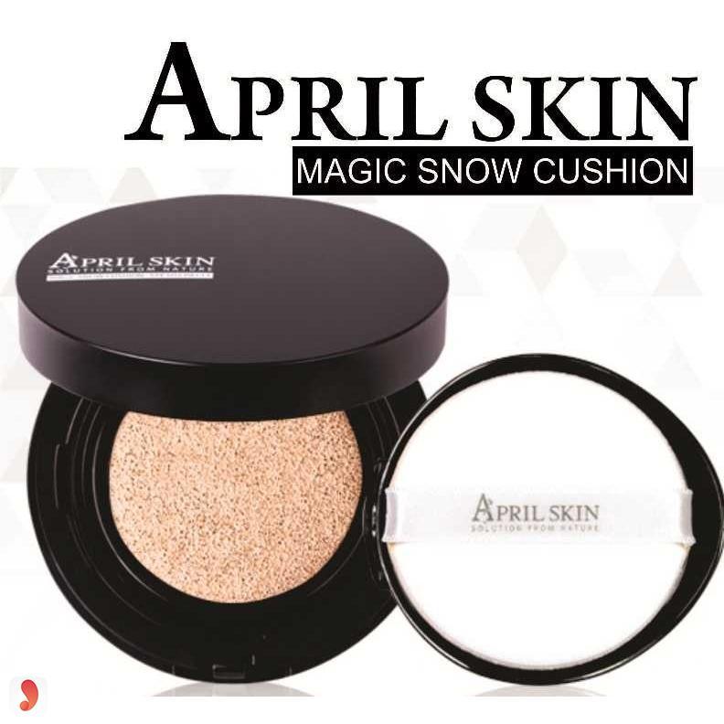 April Skin Magic Snow Cushion