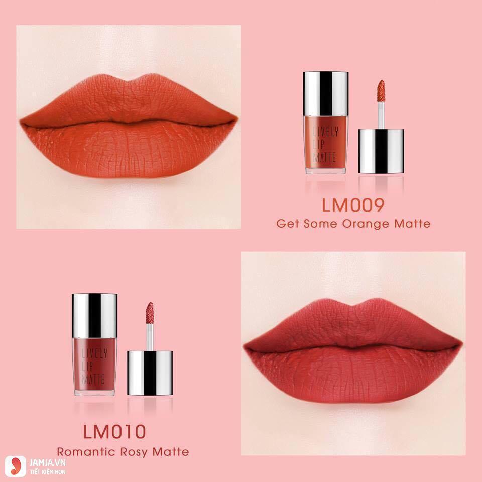 Eglips màu LM010 Romantic Rosy Matte