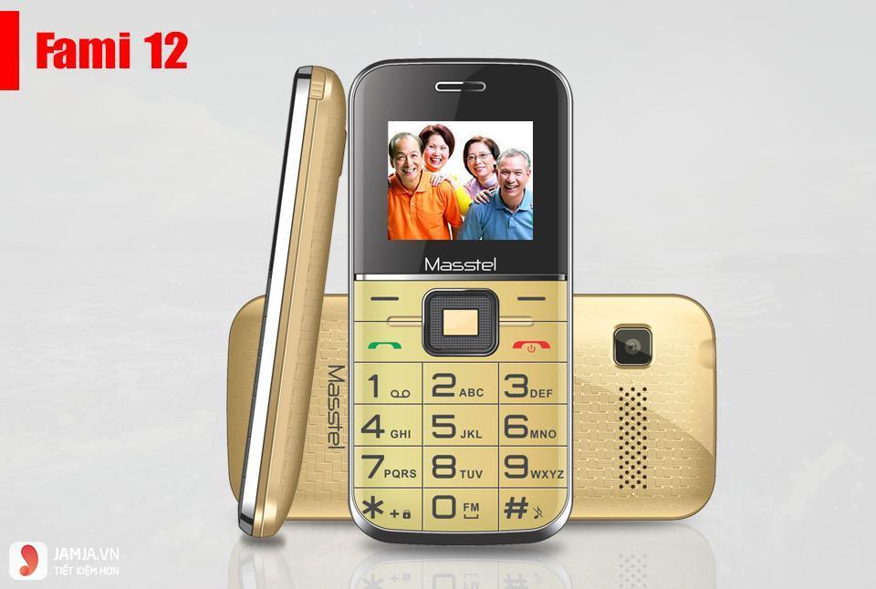 Điện thoại di động Masstel Fami 12