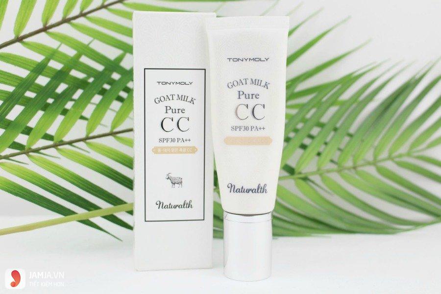 Naturalth Goat Milk Pure CC Cream Tonymoly 1