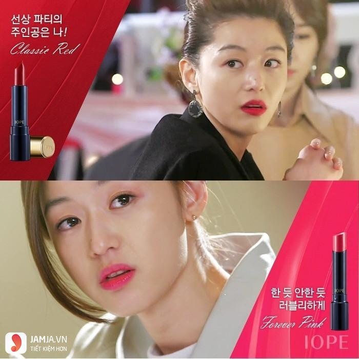 Review son Iope Water Fit Lipstick 4