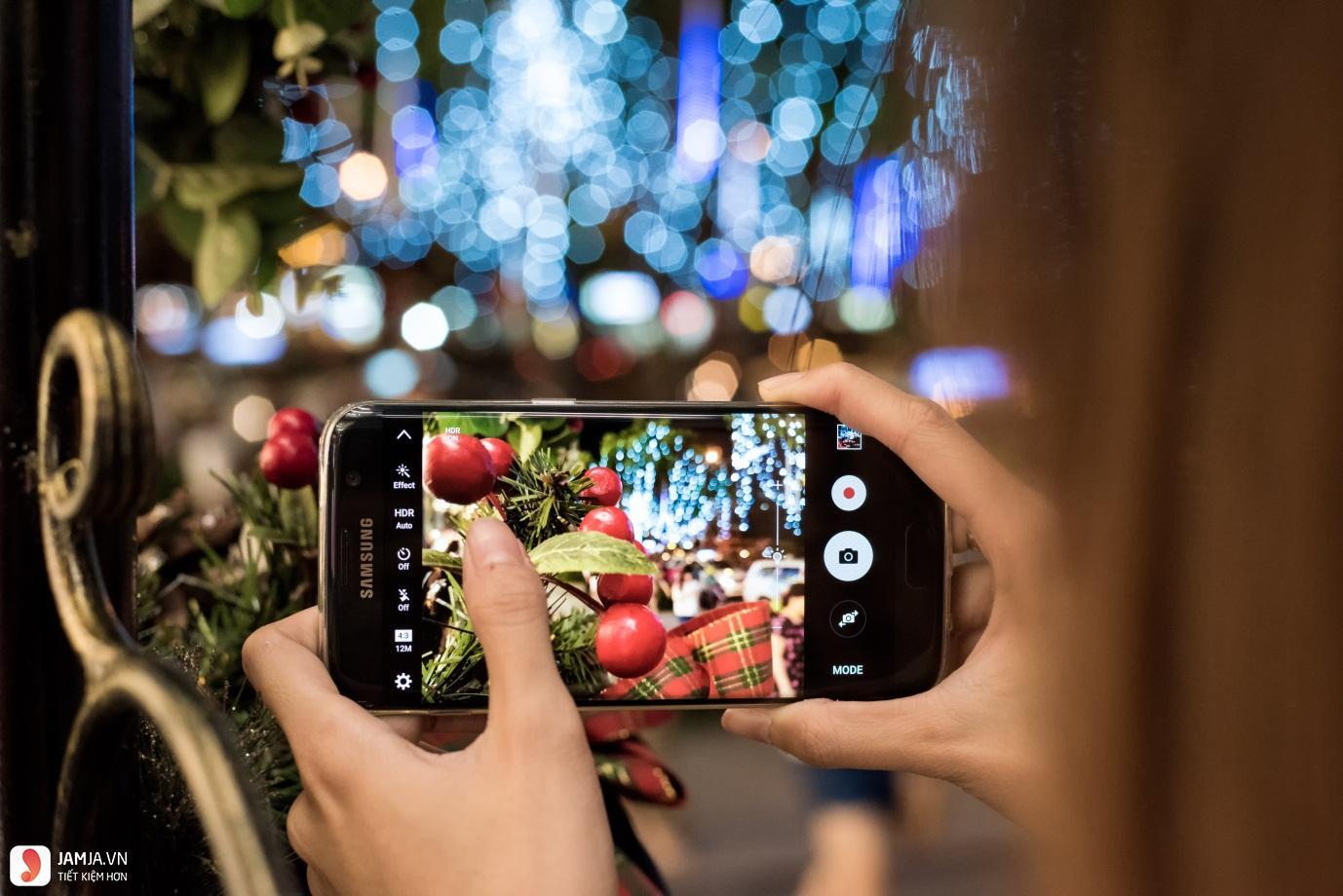 điện thoại Samsung S7 Edge camera