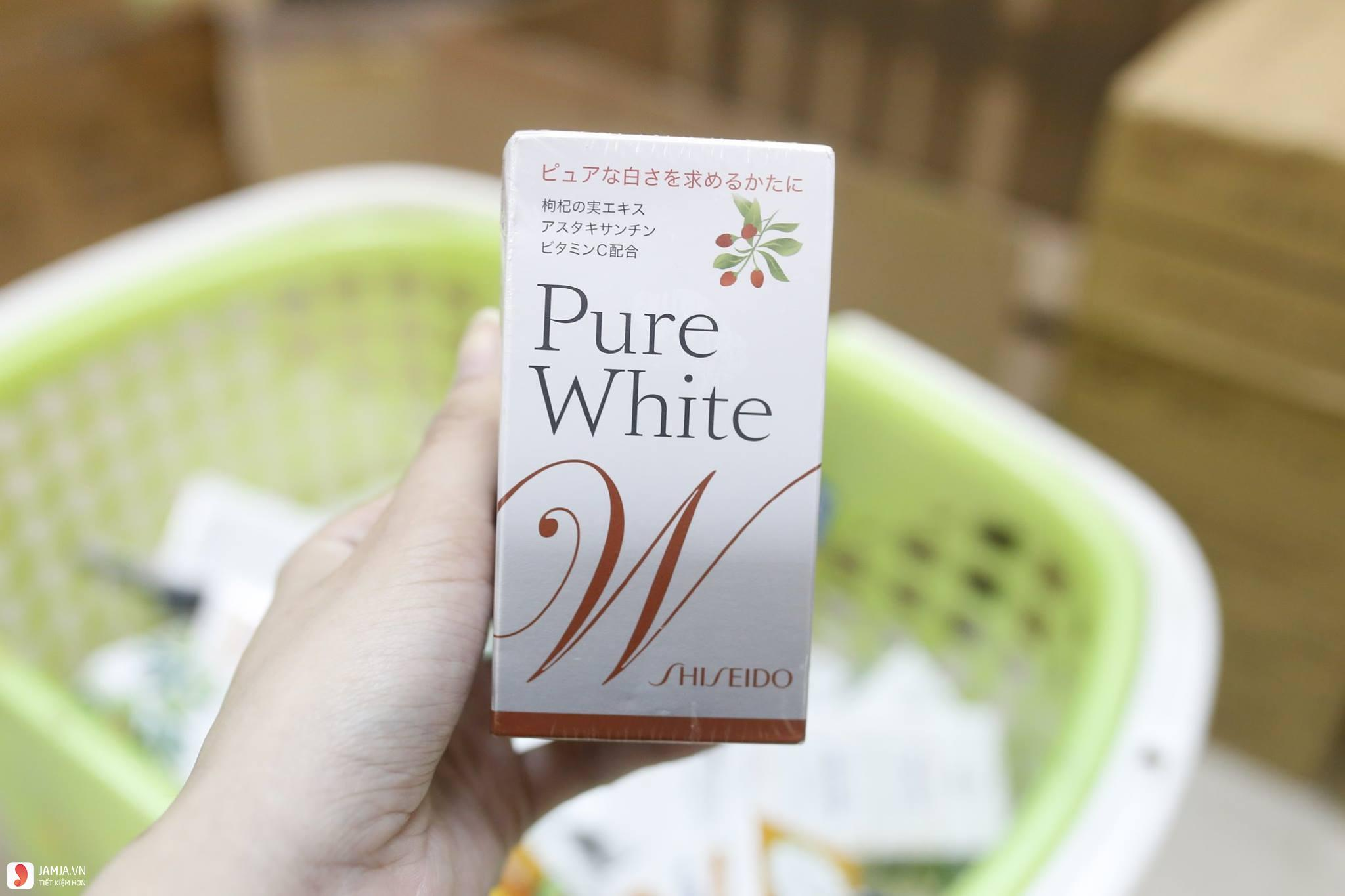 Shiseido Pure White 2