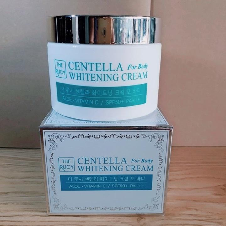 Kem dưỡng trắng The Rucy Centella Whitening Cream For Body SPF50+ PA+++ LK-WCFB