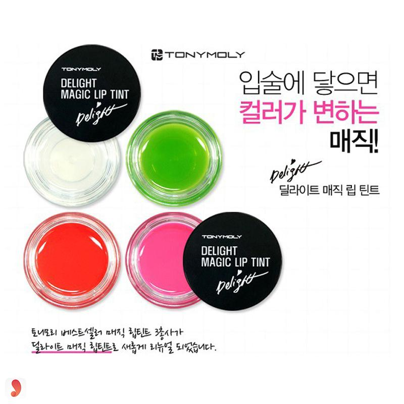Tonymoly Delight Magic Lip Tint 1