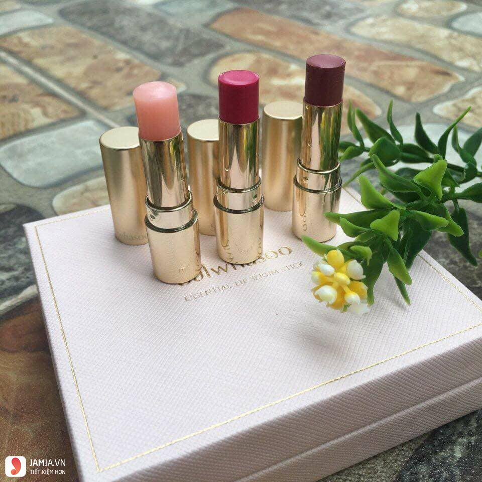 Bảng màu son Sulwhasoo Essential Lip Serum Stick