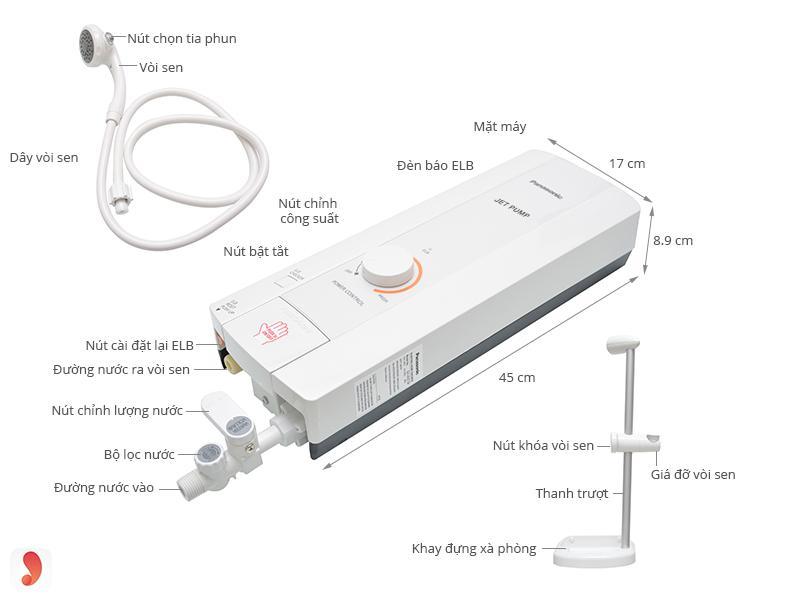 Bình nóng lạnh Panasonic 2