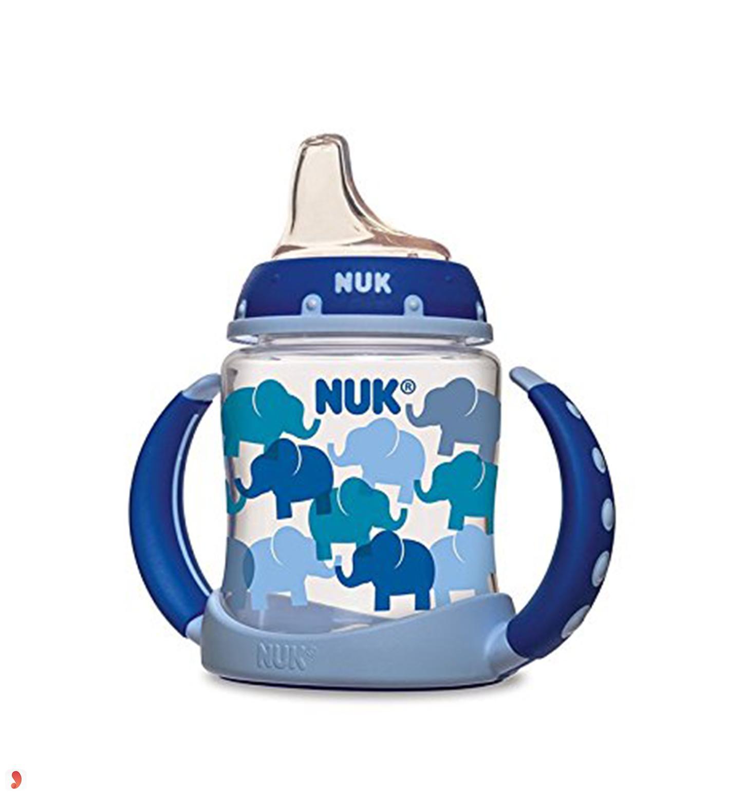 Bình tập uống nước NUK Learner Cup