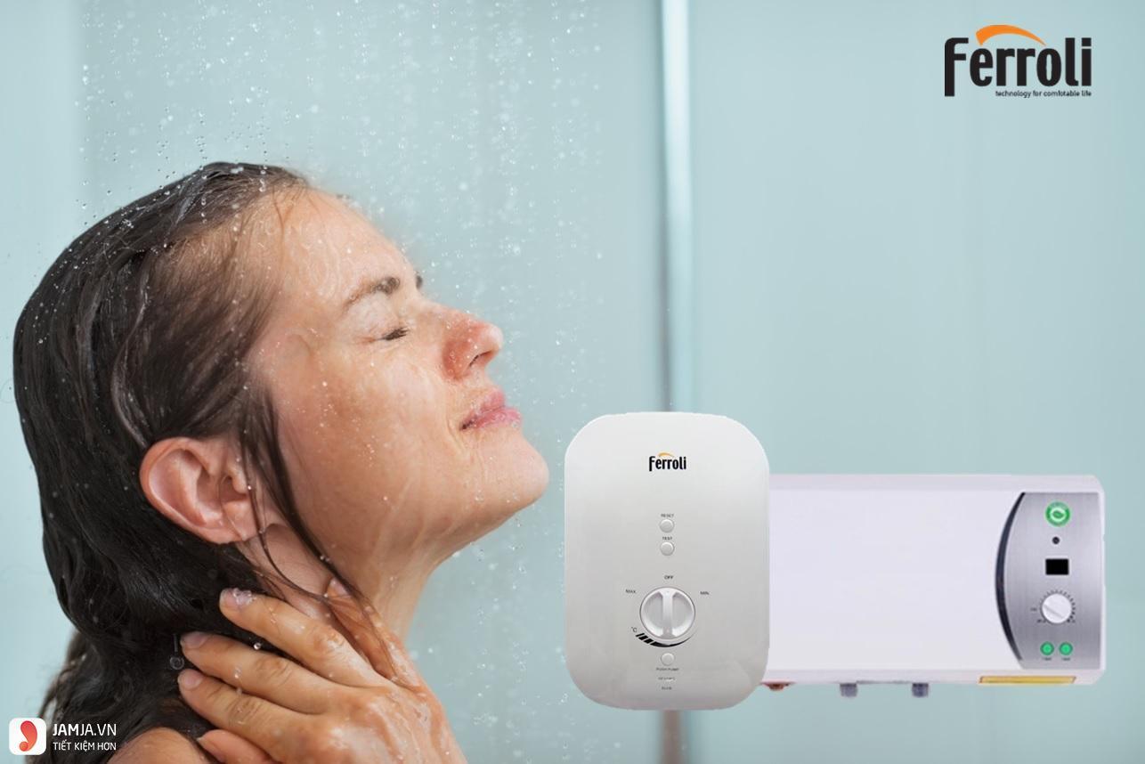 Cách sử dụng bình nóng lạnh đúng cách 3