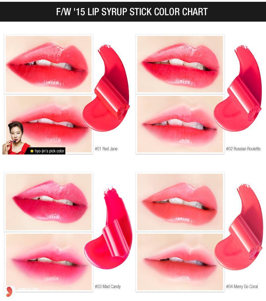 Clio Stay Shine Lip Syrup Stick