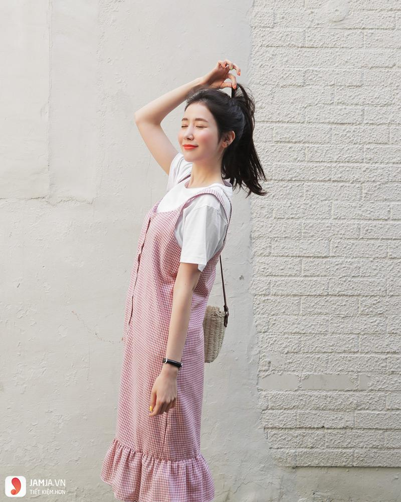 Đầm caro 2