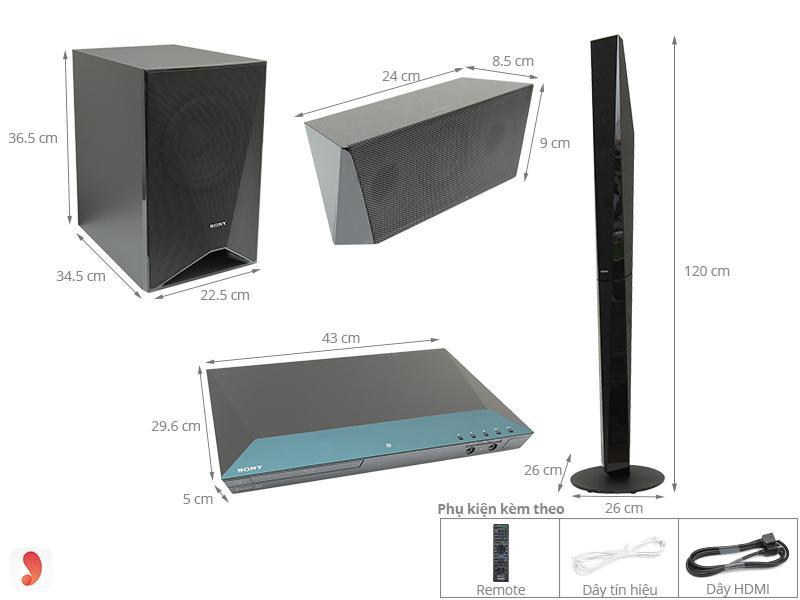 Dàn âm thanh Sony BDV-E6100 ảnh1