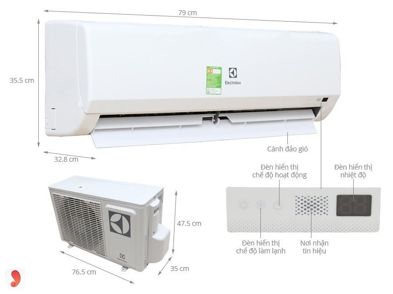 Điều hòa Electrolux ESM09CRF-D3 ảnh1