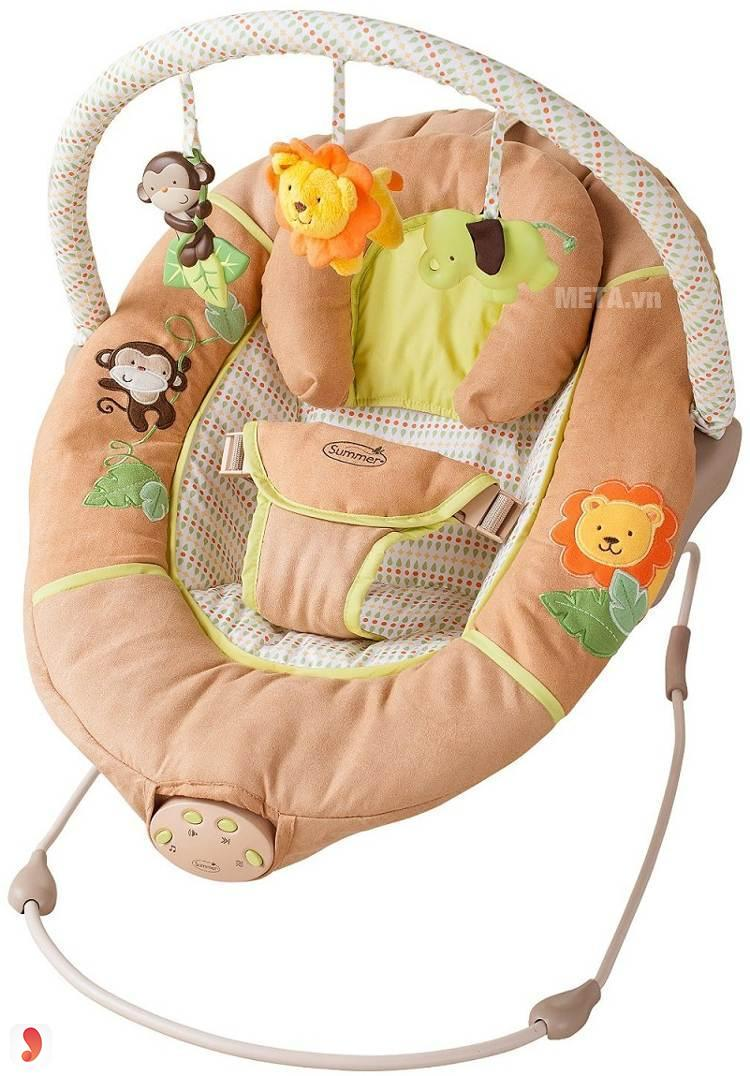 Ghế rung Summer Infant Swingin Safari