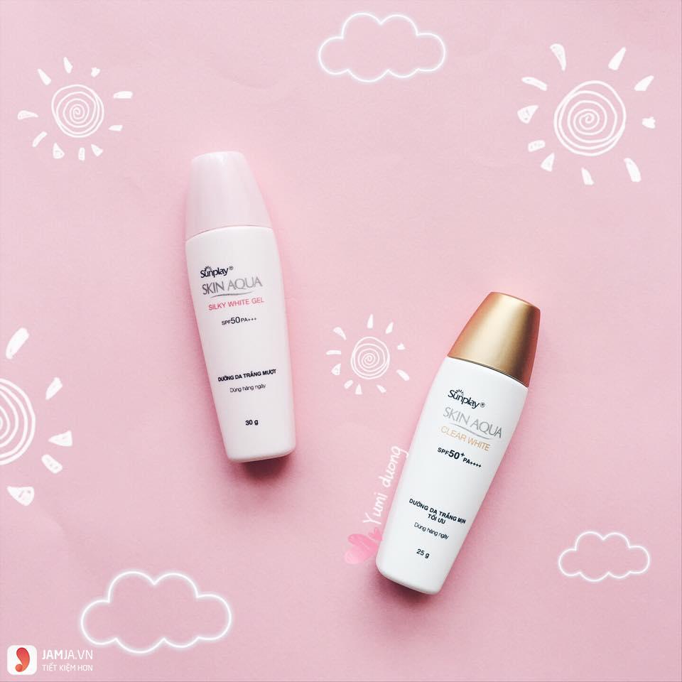 Skin Aqua Silky White Gel 2