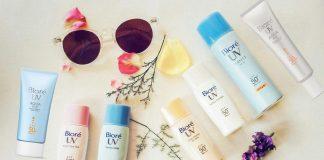 kem chống nắng Biore của Nhật