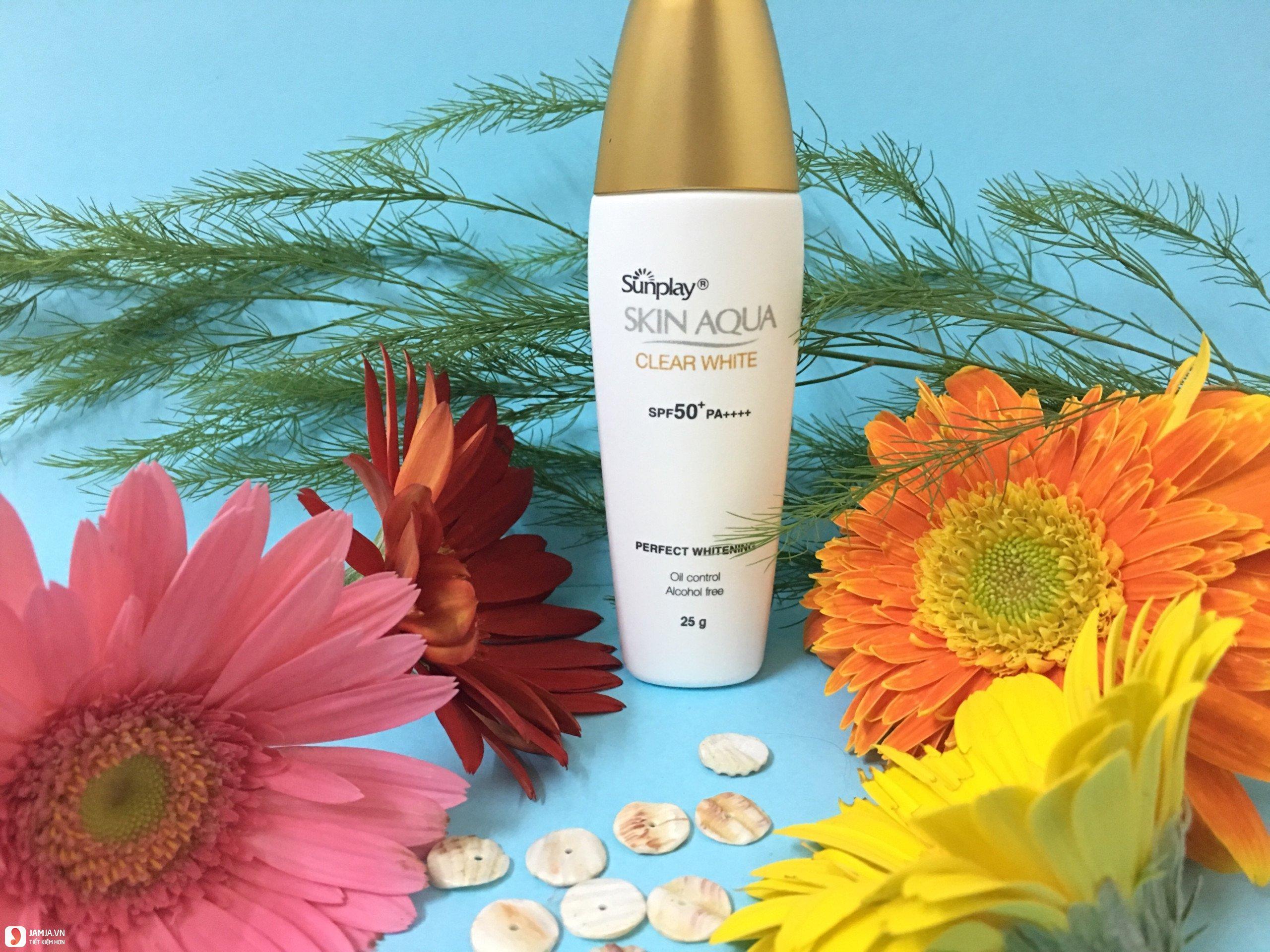 Thương hiệu kem chống nắng Skin Aqua 2