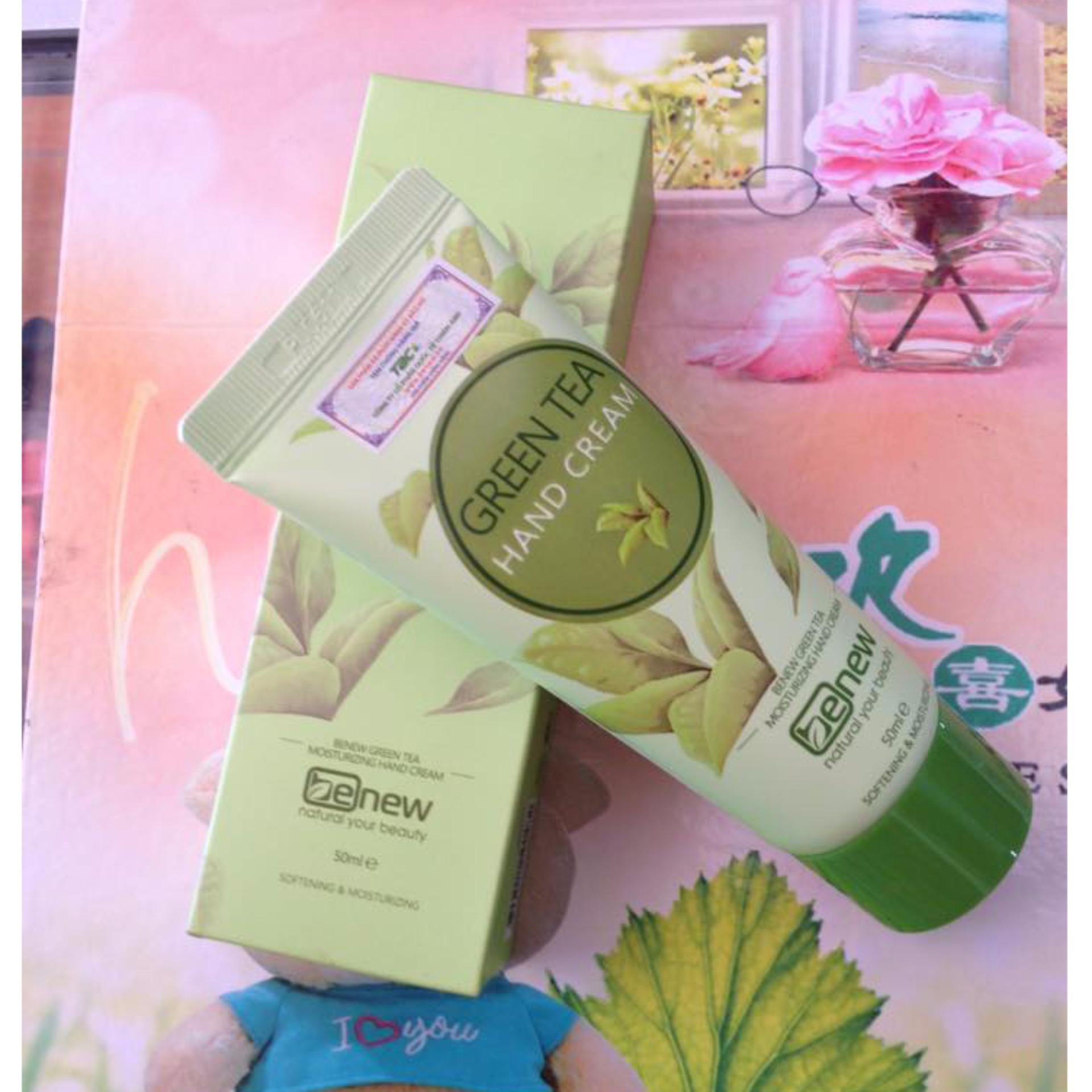 Benew Green Tea Hand Cream review