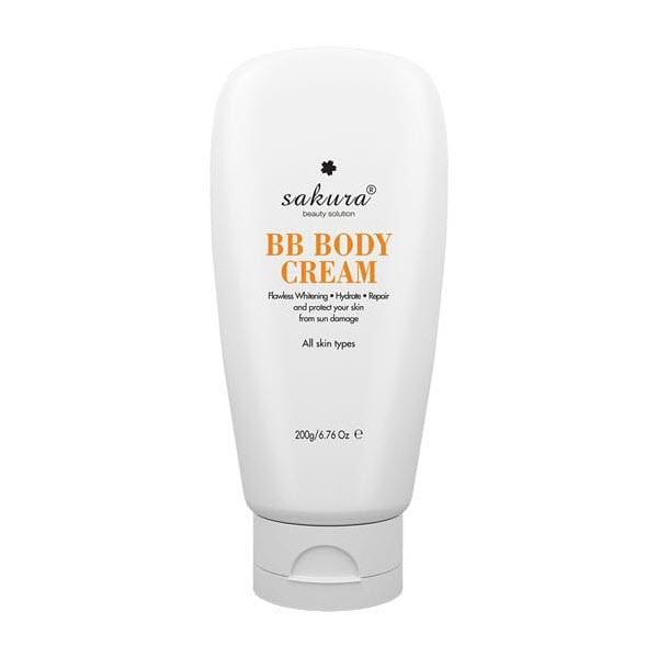 Kem dưỡng trắng Sakura Skin Whitening Body Cream