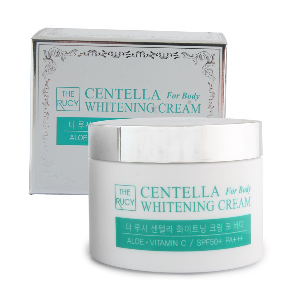 The Rucy Centella Whitening Cream For Body SPF50+ PA+++ LK-WCFB