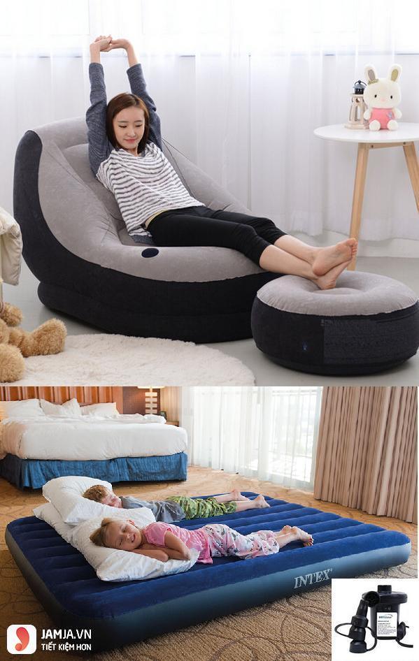 Tiêu chí kích thước chọn giường bơm hơi