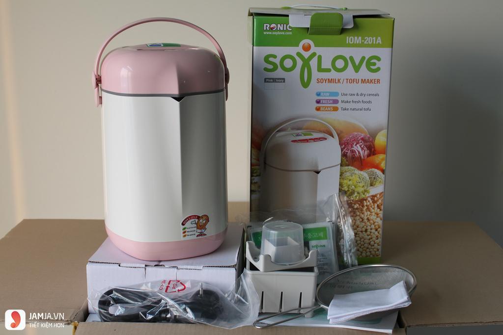 Kinh nghiệm chọn mua máy làm sữa đậu nành 8