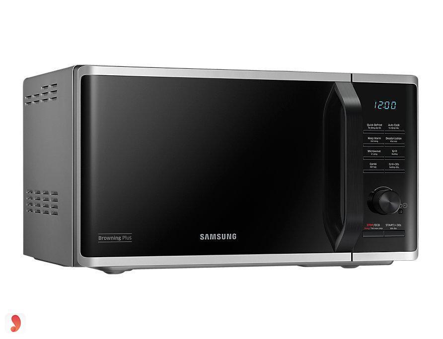 Lò vi sóng điện tử có nướng Samsung MG23K3515AS/SV 23L