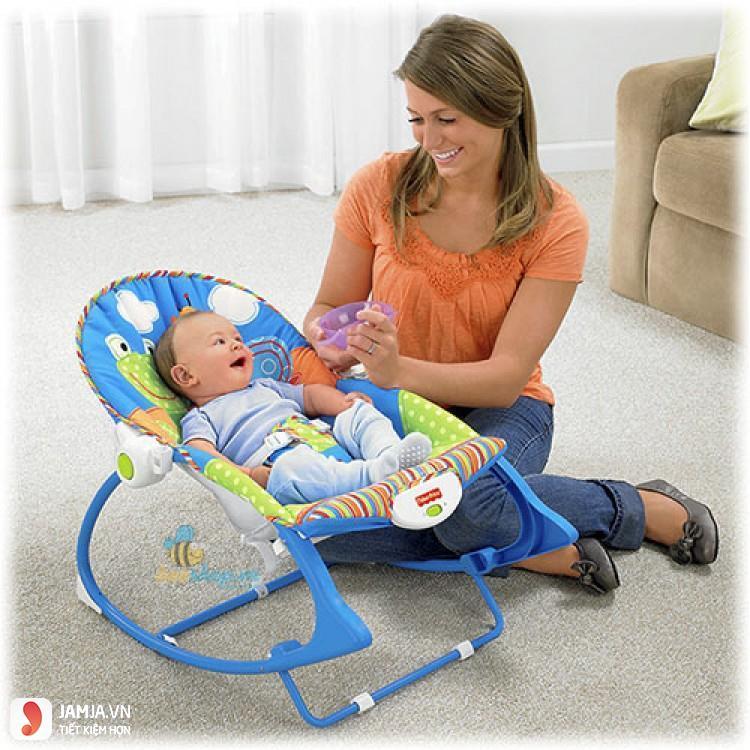 Lưu ý khi sử dụng ghế rung cho trẻ nhỏ