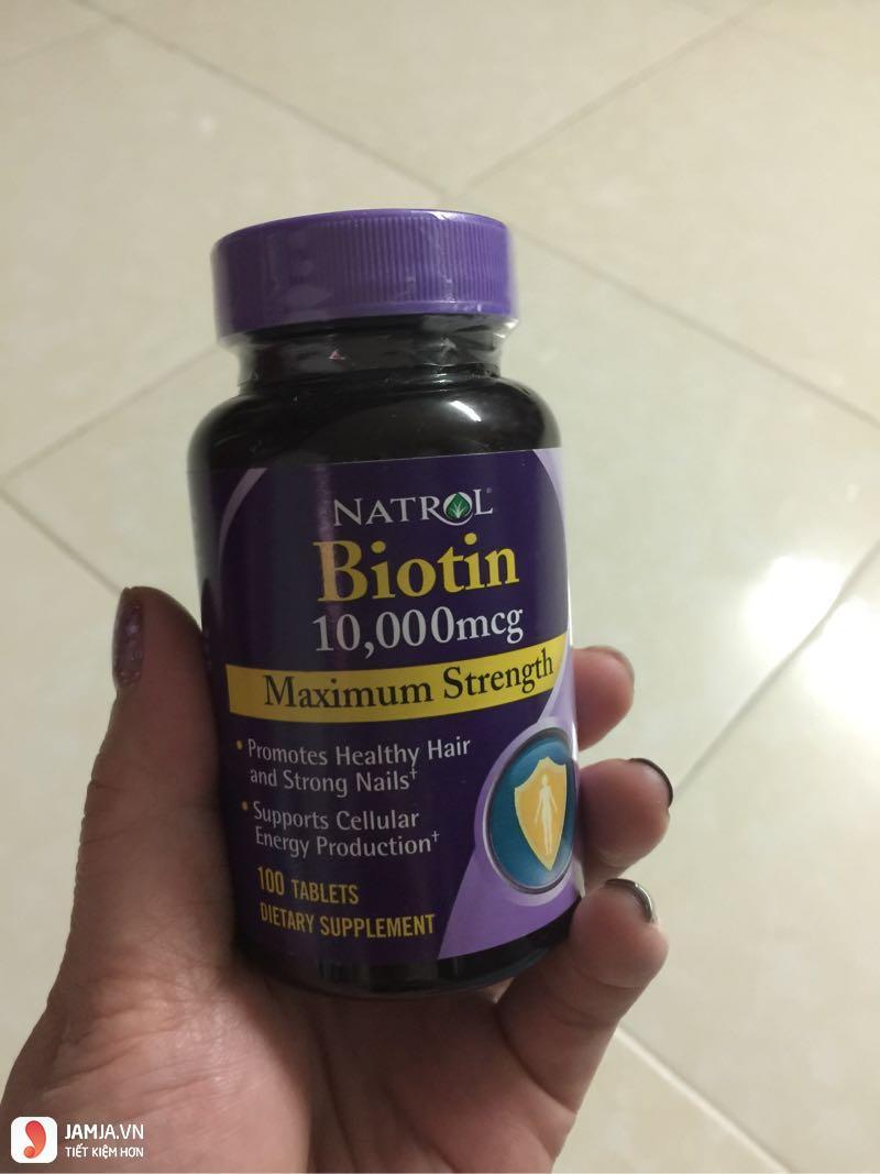 Lưu ý trong quá trình sử dụng thuốc mọc tócBiotin