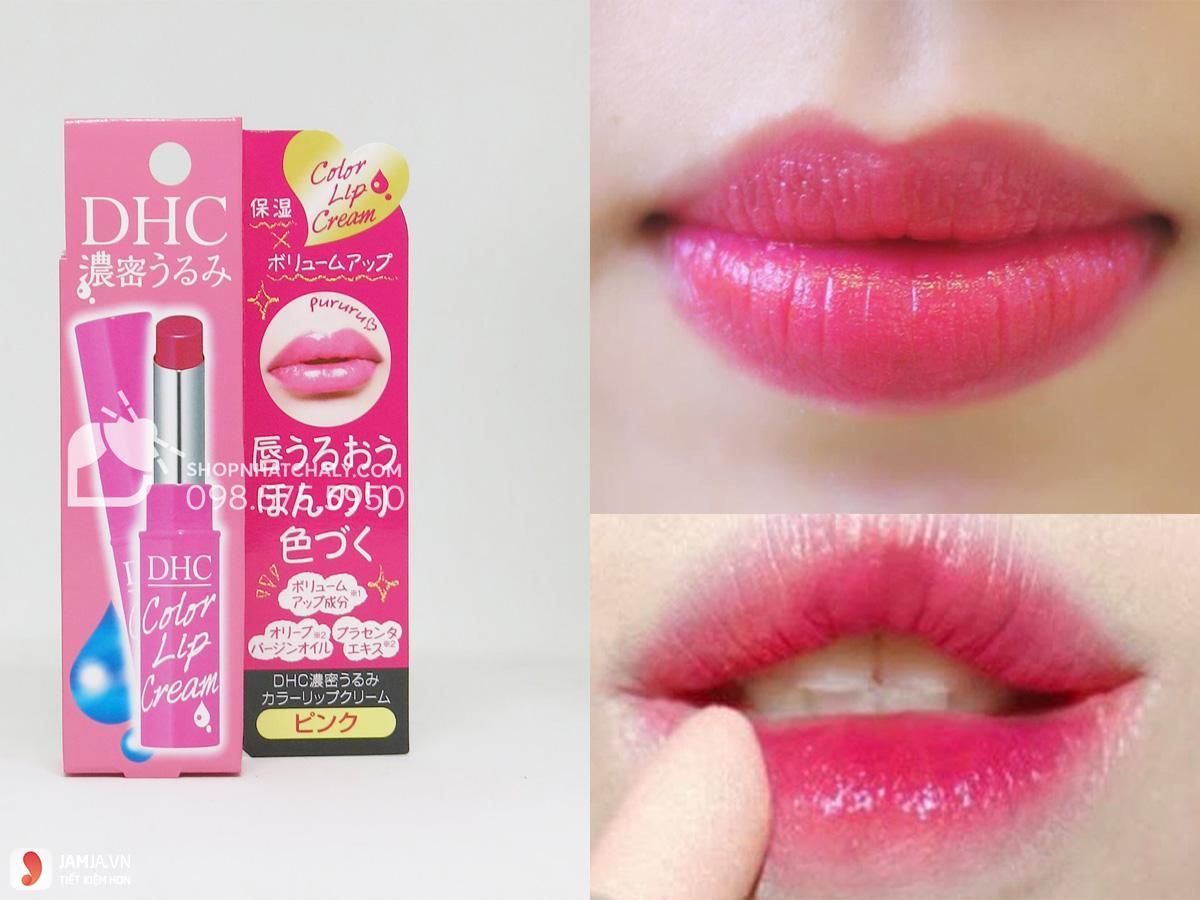 màu son DHC Lip Cream