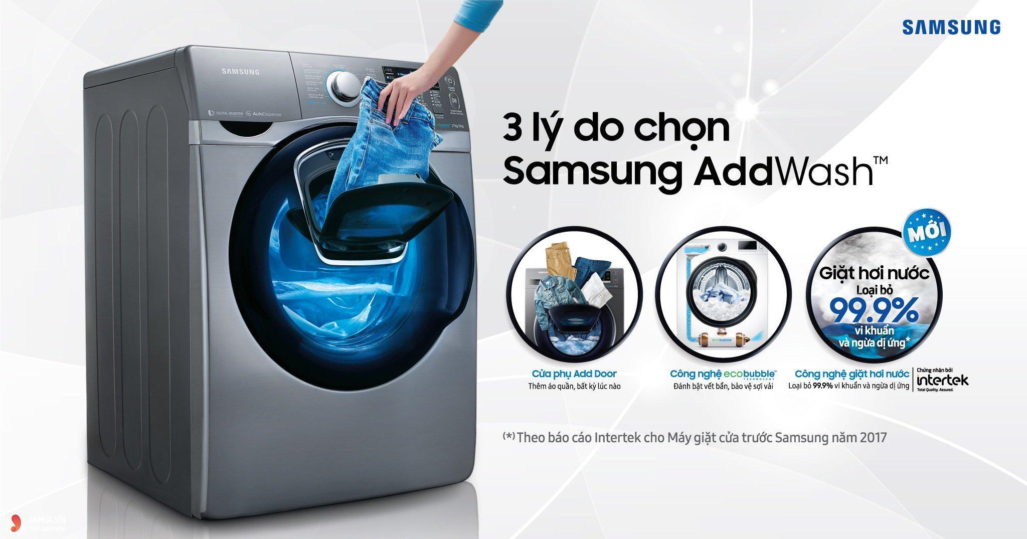 Máy giặt lồng đứng và máy giặt lồng ngang có gì khác nhau 3