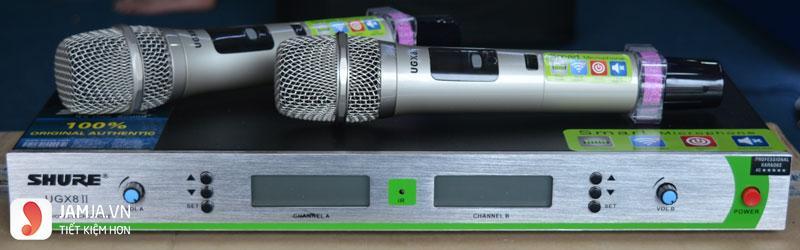 Micro không dây Shure UGX8 II ảnh1