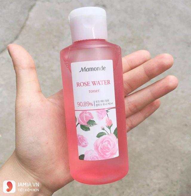 Nước hoa hồng Mamonde Rose Water Toner 3