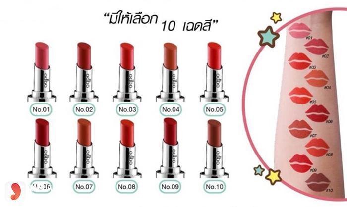 Kết quả hình ảnh cho Son Thỏi Odbo Love Sweet Lipstick
