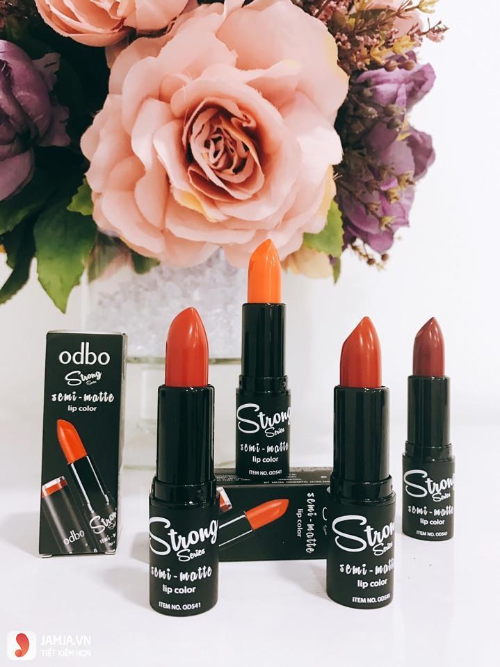 Odbo Strong Semi Matte Lip Color 1