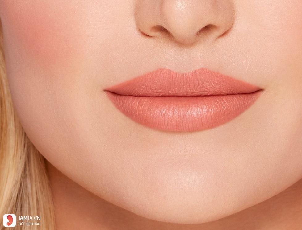 peach kiss màu disrobed