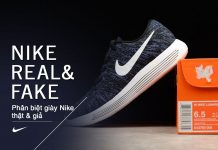 Phân biệt giày Nike thật giả