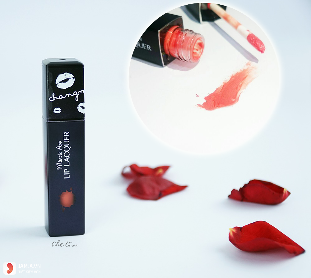 Review son miracle apo lip lacquer 2