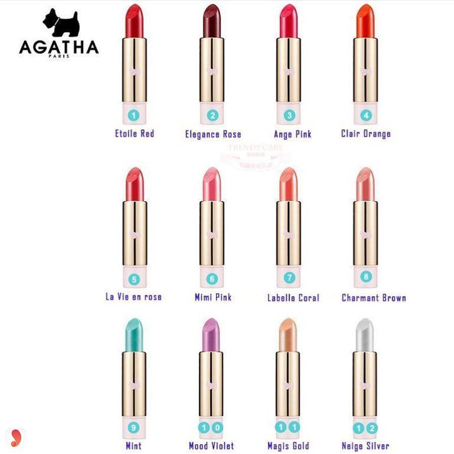 SonAGATHA Premiere Lipstick màu nào đẹp nhất 1