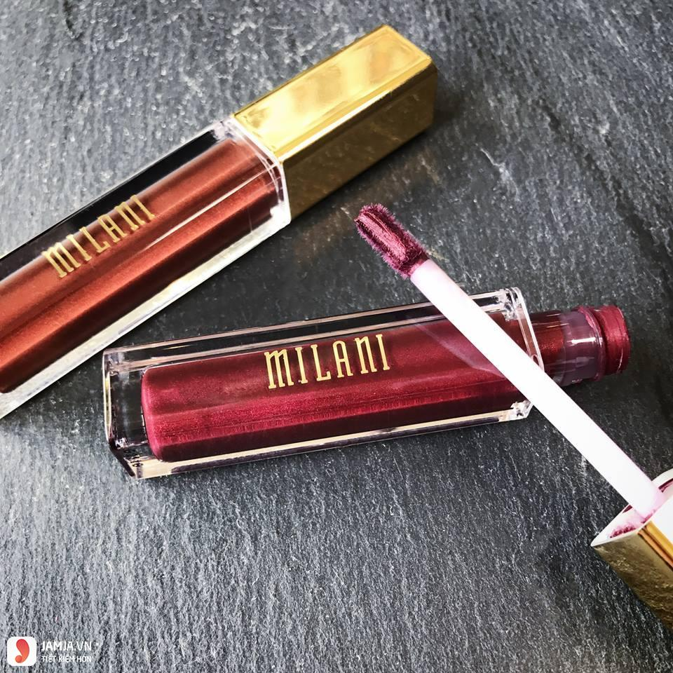 son Milani Amore Matte Lip Cream review chi tiết 2
