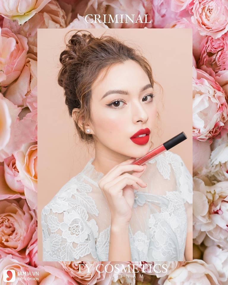 SonTy Cosmetics Matte Lip Cream giá bao nhiêu?
