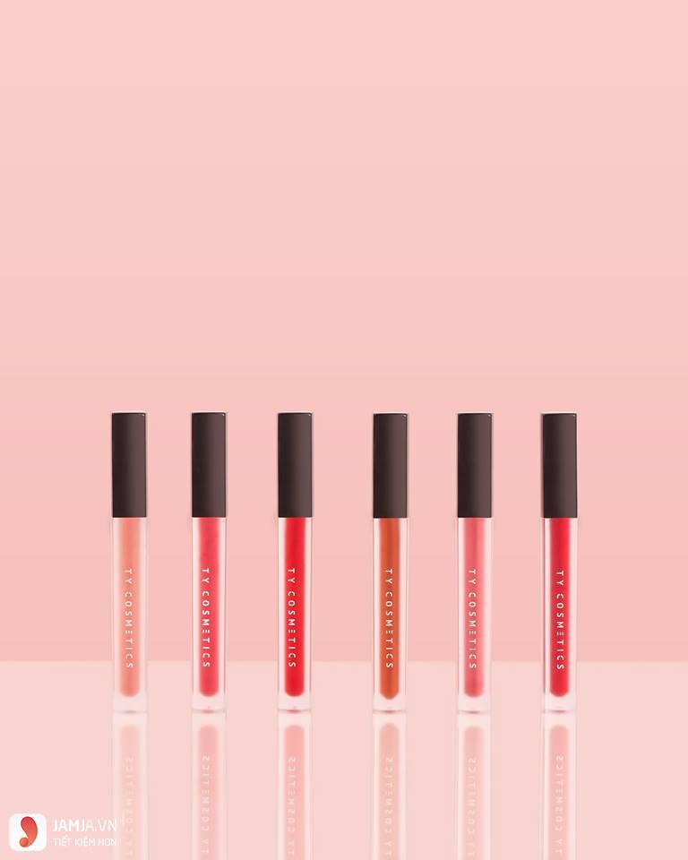 SonTy Cosmetics Matte Lip Cream màu nào đẹp nhất 1