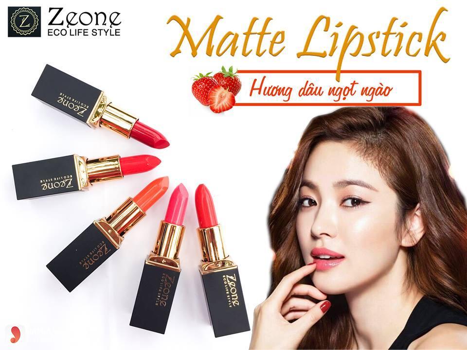 son Zeone Matte Lipstick