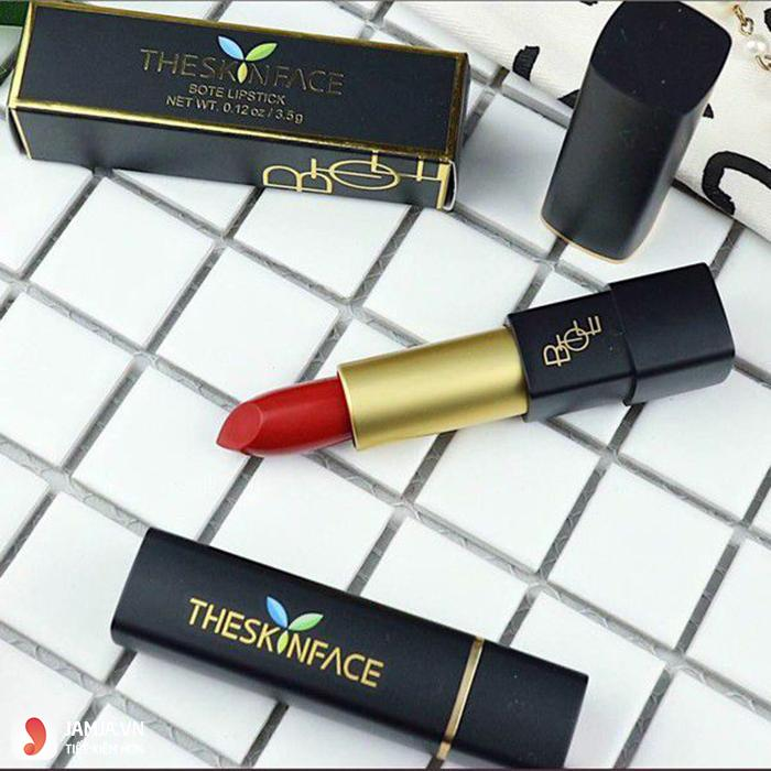 sonThe Skin Face Luxury Bote Lipstick 5