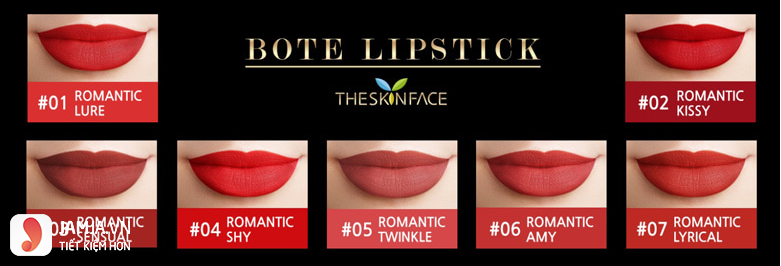 sonThe Skin Face Luxury Bote Lipstick 6