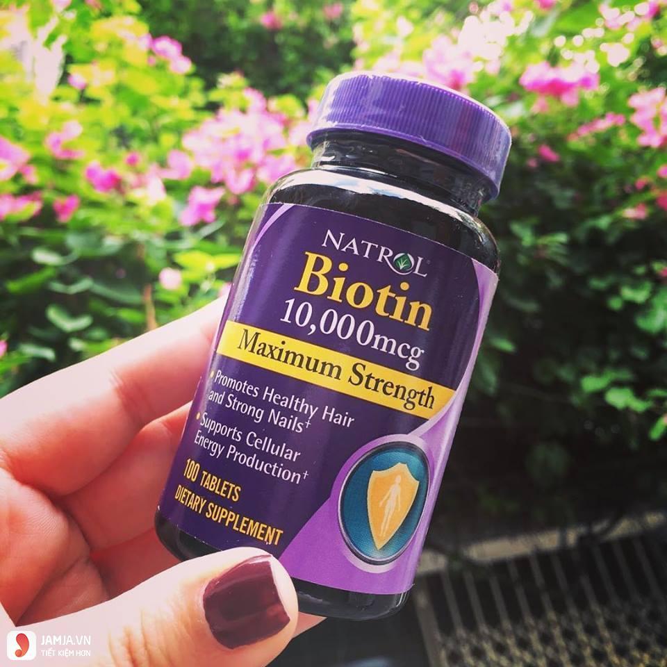 Tác dụng của Biotin 2
