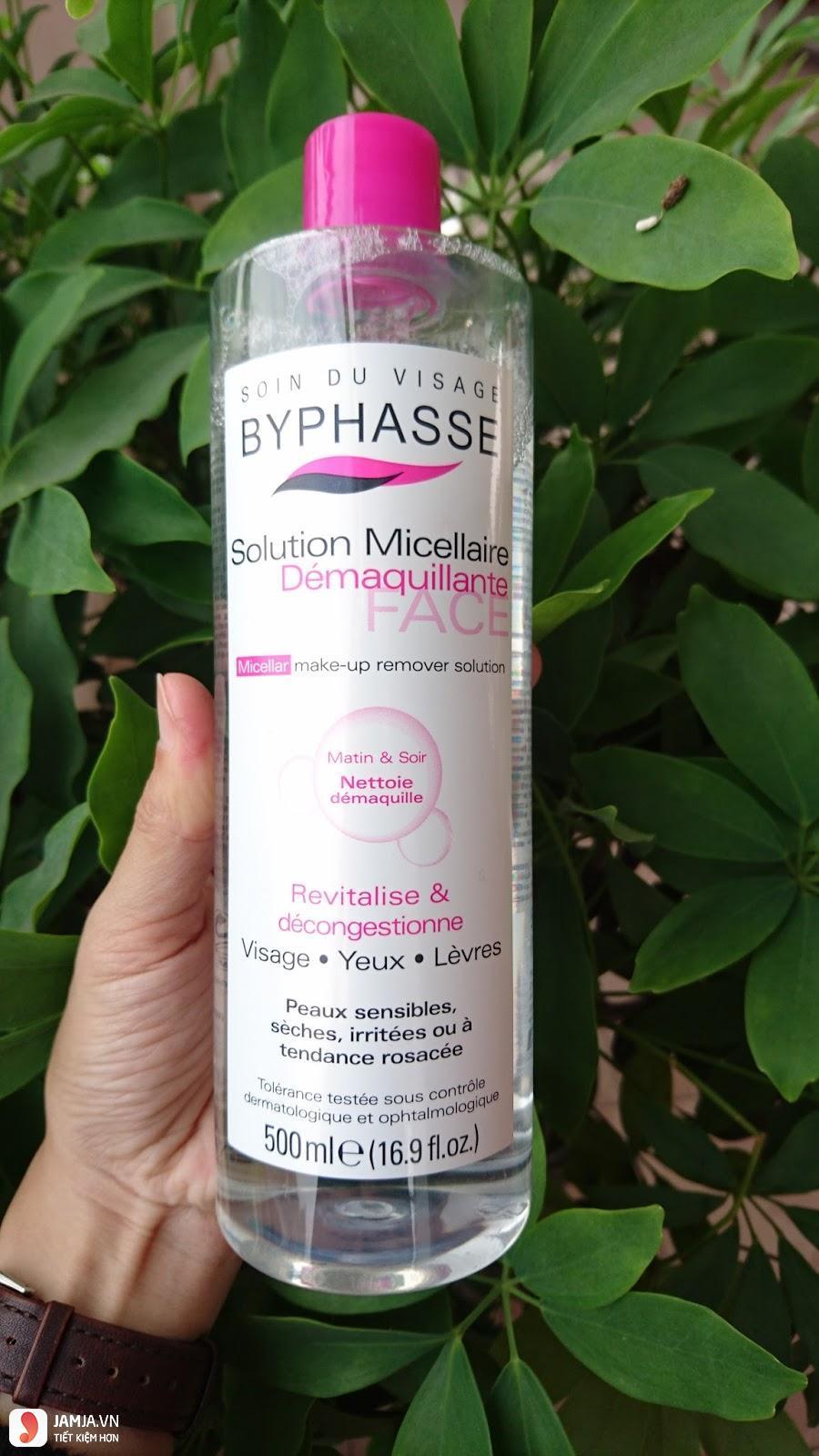 Review nước tẩy trang Byphasse có tốt không 2